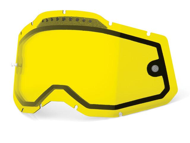 100% Vented Dual Ersatzscheiben Gen2 yellow/clear